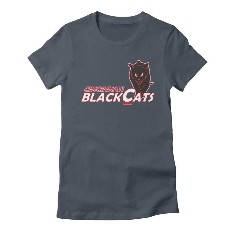 Cincinnati Black Cats Women's T-Shirt by Sanctuary Sports LLC