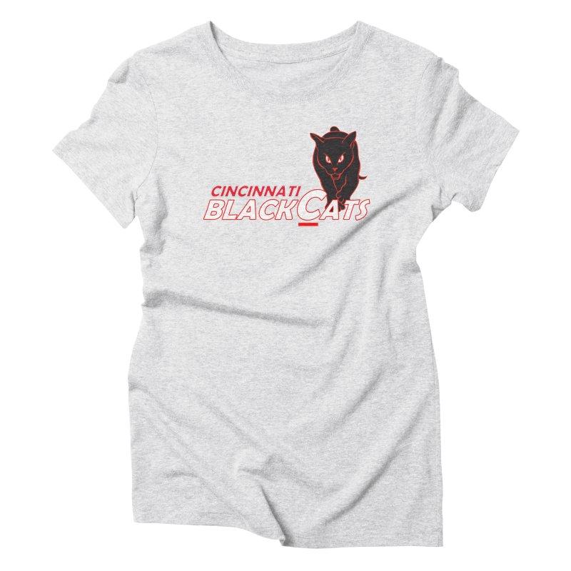 Cincinnati Black Cats Women's Triblend T-Shirt by Sanctuary Sports
