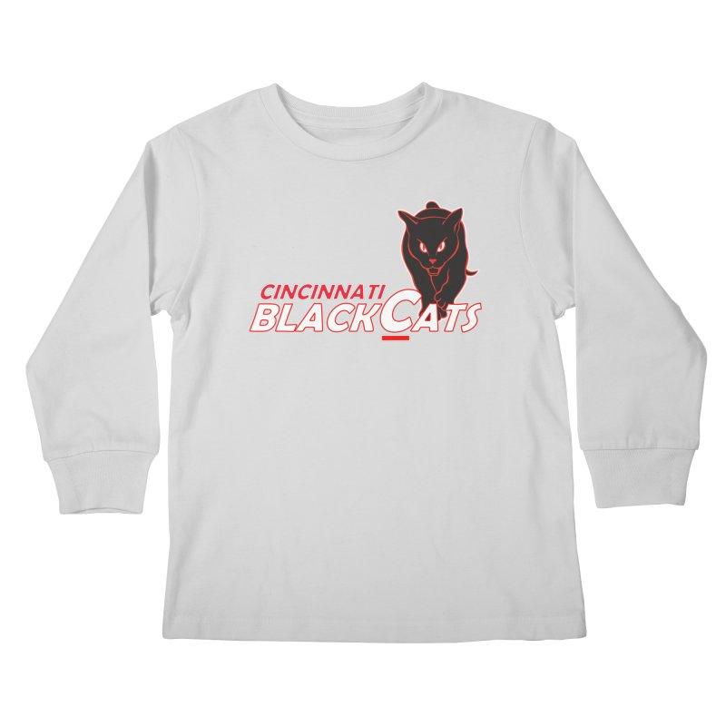Cincinnati Black Cats Kids Longsleeve T-Shirt by Sanctuary Sports