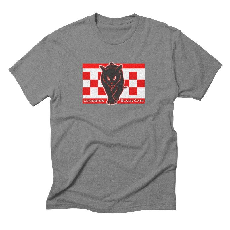 Lexington Black Cats Men's T-Shirt by Sanctuary Sports LLC