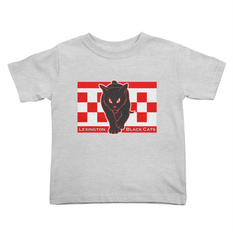 Lexington Black Cats Kids Toddler T-Shirt by Sanctuary Sports