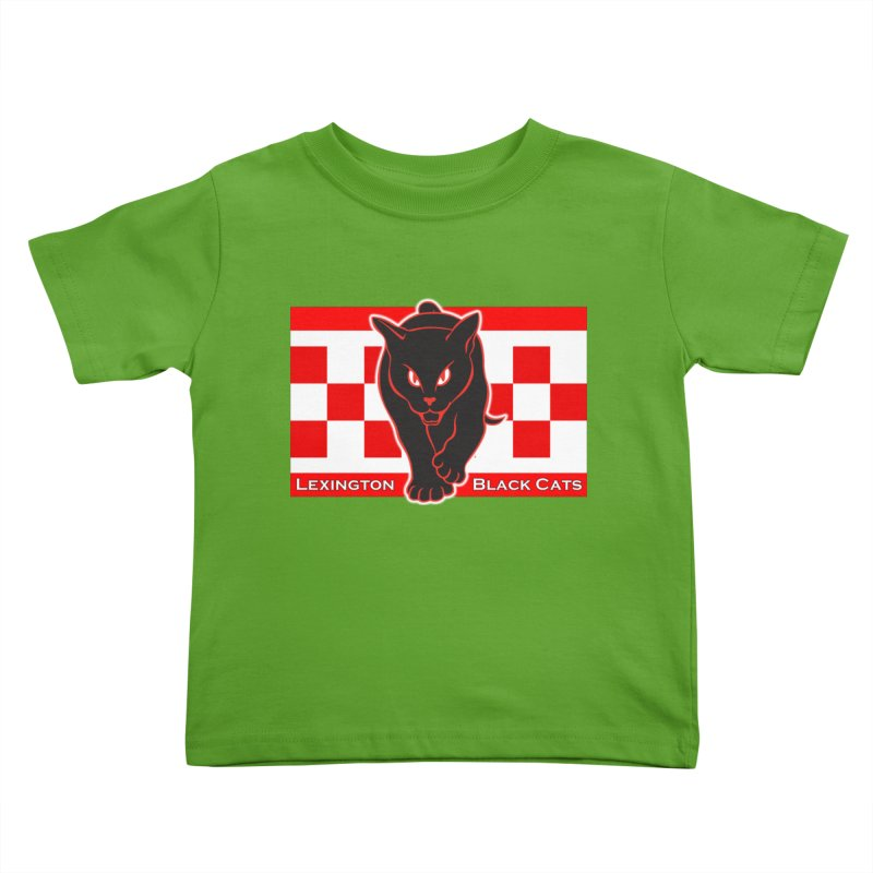 Lexington Black Cats Kids Toddler T-Shirt by Sanctuary Sports LLC