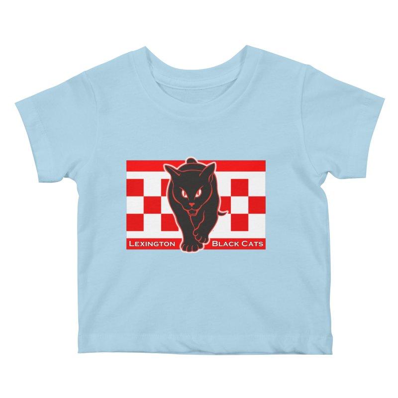 Lexington Black Cats Kids Baby T-Shirt by Sanctuary Sports