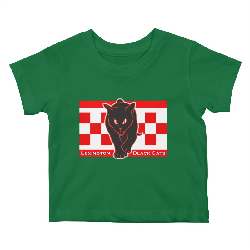 Lexington Black Cats Kids Baby T-Shirt by Sanctuary Sports
