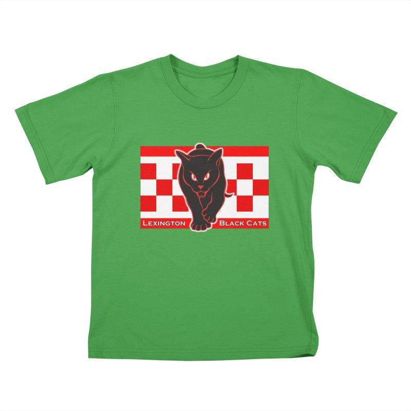 Lexington Black Cats Kids T-Shirt by Sanctuary Sports