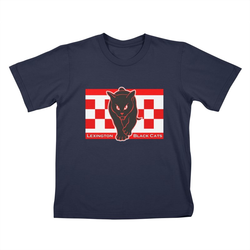 Lexington Black Cats Kids T-Shirt by Sanctuary Sports LLC