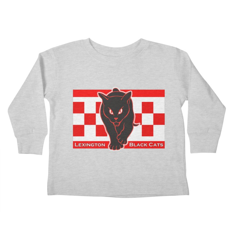 Lexington Black Cats Kids Toddler Longsleeve T-Shirt by Sanctuary Sports