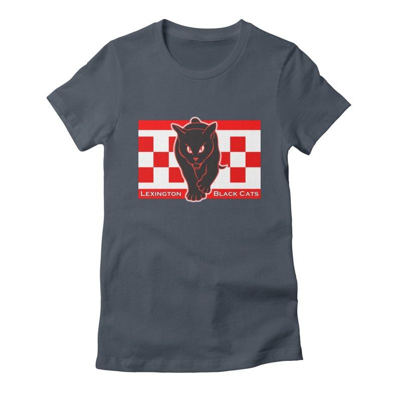 Lexington Black Cats Women's T-Shirt by Sanctuary Sports LLC
