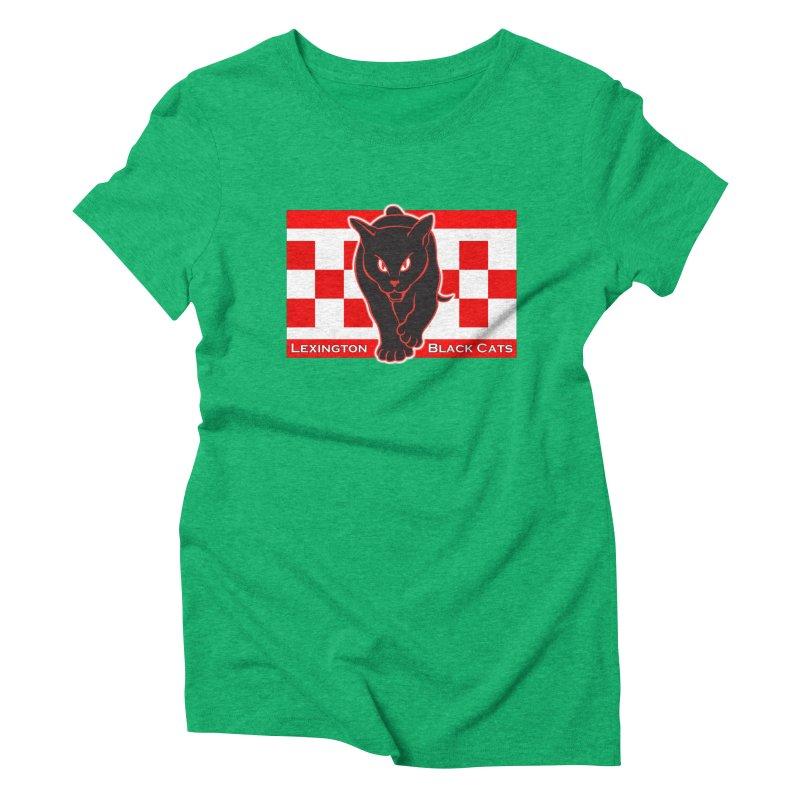 Lexington Black Cats Women's Triblend T-Shirt by Sanctuary Sports