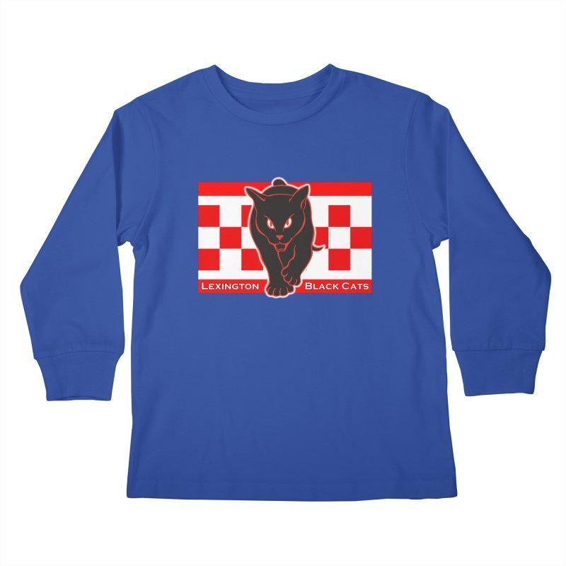 Lexington Black Cats Kids Longsleeve T-Shirt by Sanctuary Sports