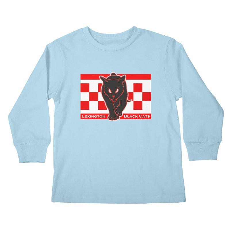 Lexington Black Cats Kids Longsleeve T-Shirt by Sanctuary Sports