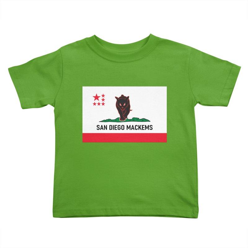San Diego Mackems Kids Toddler T-Shirt by Sanctuary Sports LLC