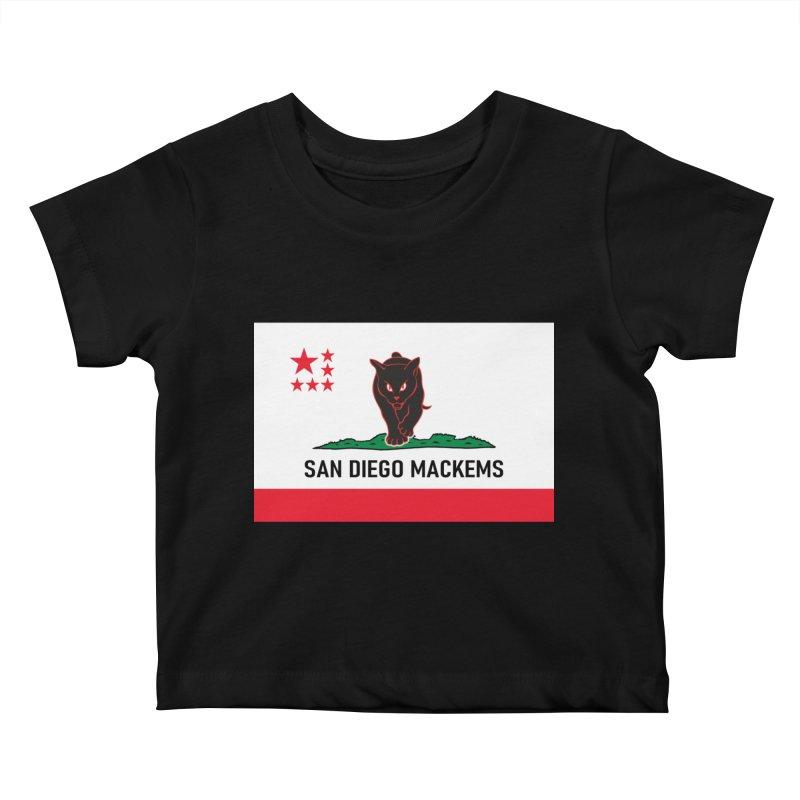 San Diego Mackems Kids Baby T-Shirt by Sanctuary Sports