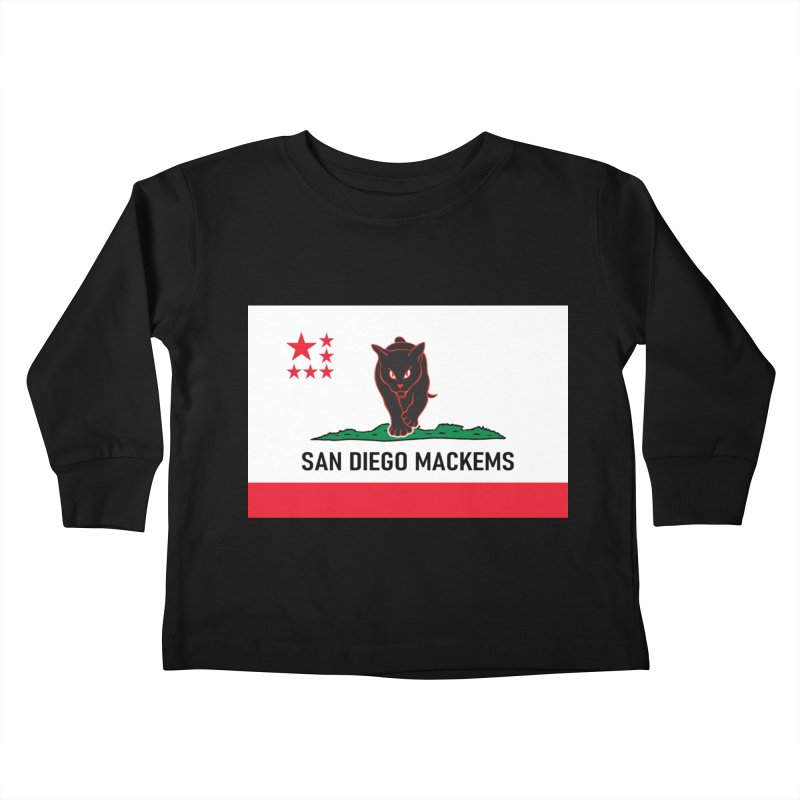 San Diego Mackems Kids Toddler Longsleeve T-Shirt by Sanctuary Sports LLC