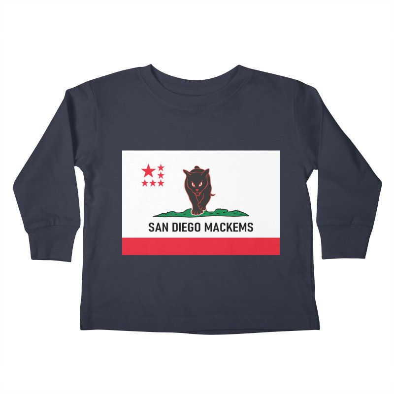 San Diego Mackems Kids Toddler Longsleeve T-Shirt by Sanctuary Sports