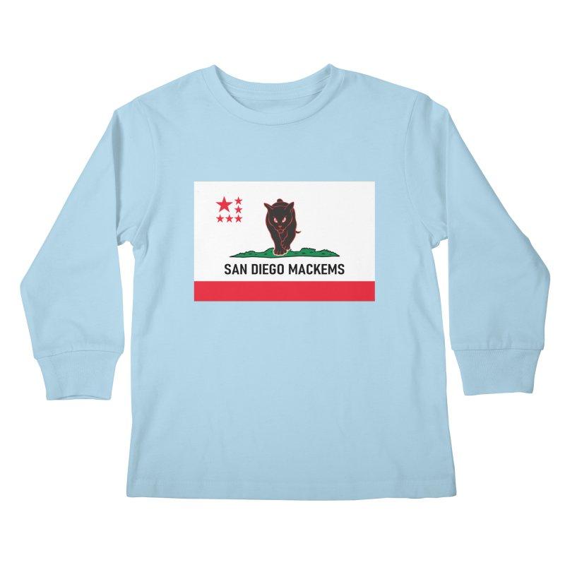 San Diego Mackems Kids Longsleeve T-Shirt by Sanctuary Sports