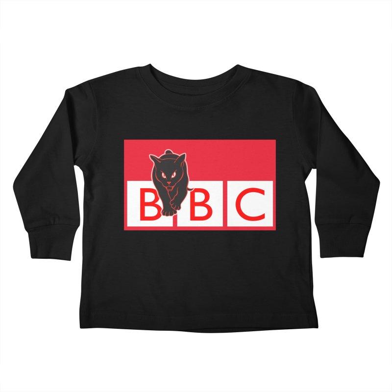 Baltimore Black Cats Kids Toddler Longsleeve T-Shirt by Sanctuary Sports LLC