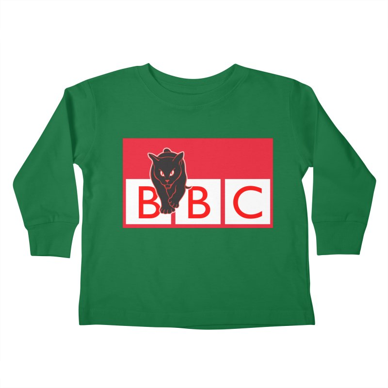 Baltimore Black Cats Kids Toddler Longsleeve T-Shirt by Sanctuary Sports