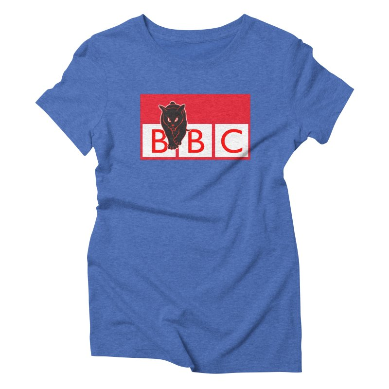 Baltimore Black Cats Women's Triblend T-Shirt by Sanctuary Sports