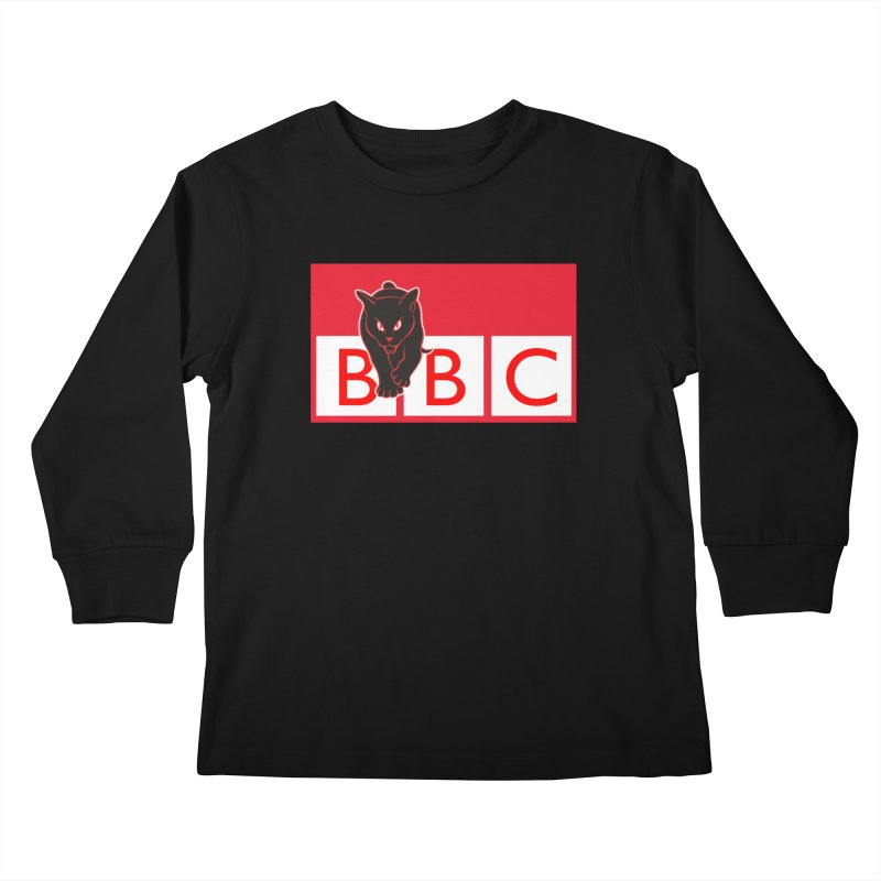 Baltimore Black Cats Kids Longsleeve T-Shirt by Sanctuary Sports