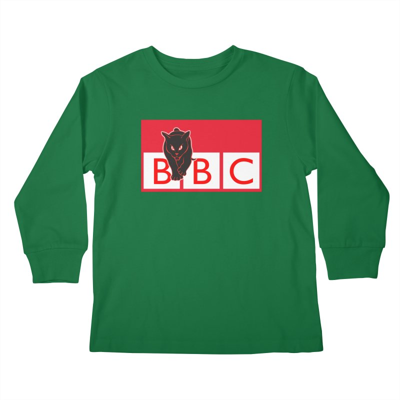 Baltimore Black Cats Kids Longsleeve T-Shirt by Sanctuary Sports
