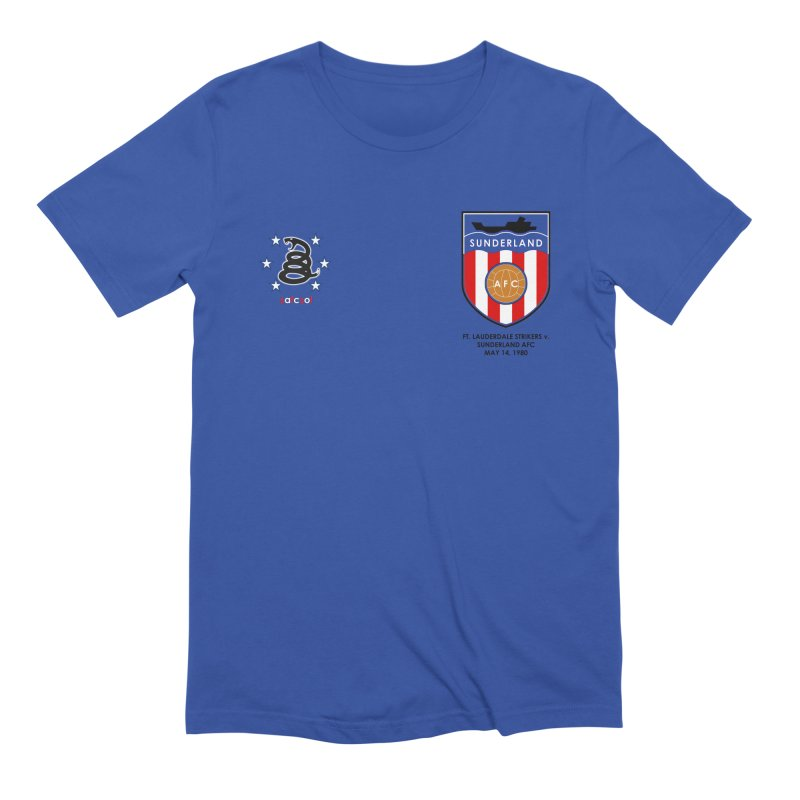 SOLIC 2020 Tee - 79/80 v. Ft. Lauderdale Strikers Men's Extra Soft T-Shirt by Sanctuary Sports