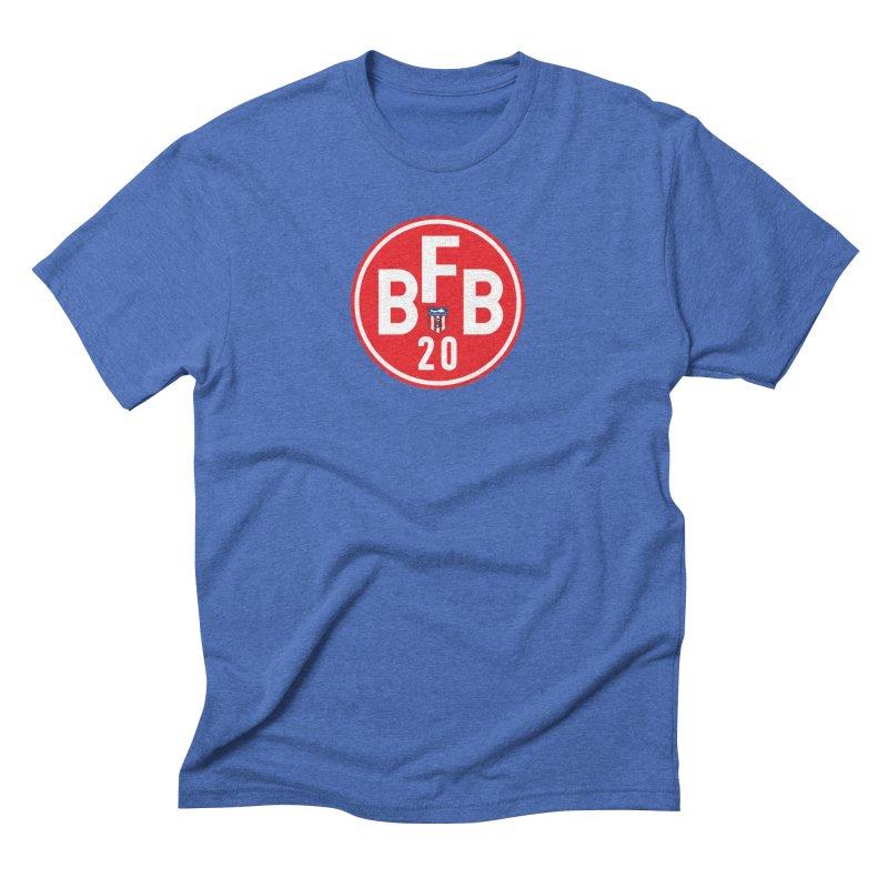 Beer. Football. Bollocks. Men's T-Shirt by Sanctuary Sports LLC