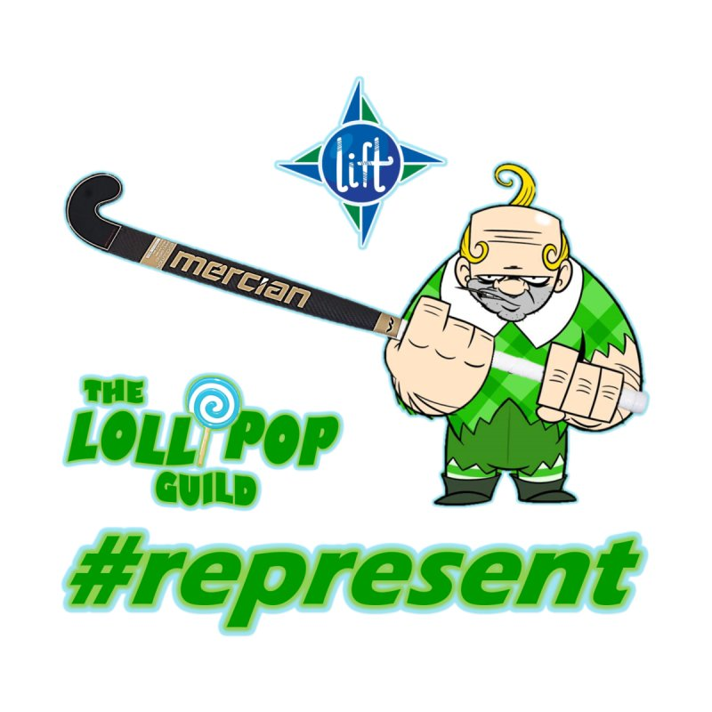 Lift Field Hockey : Lollipop Guild Accessories Magnet by Sanctuary Sports LLC