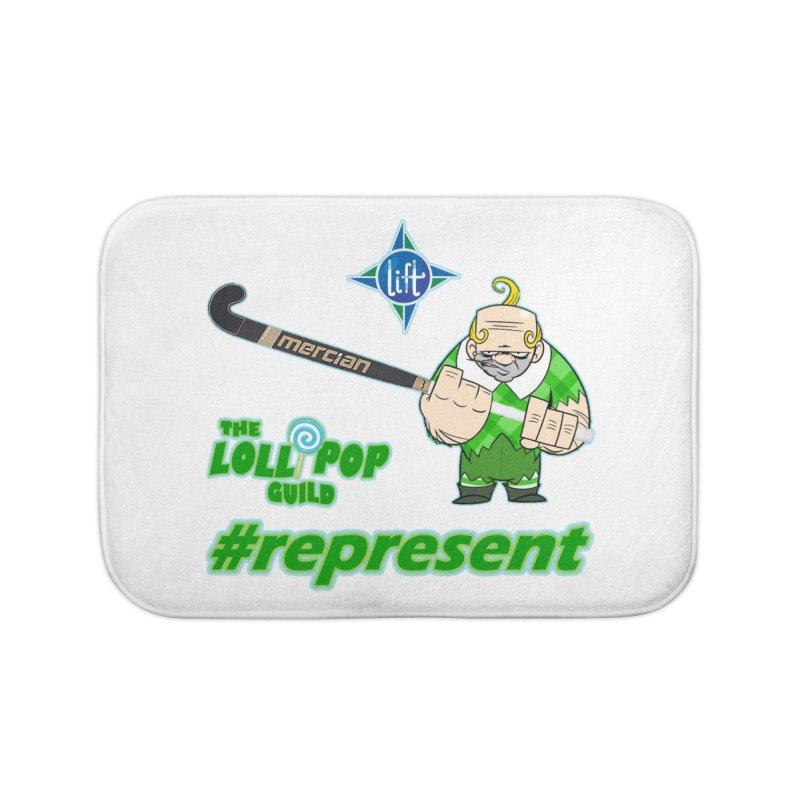 Lift Field Hockey : Lollipop Guild Home Bath Mat by Sanctuary Sports LLC