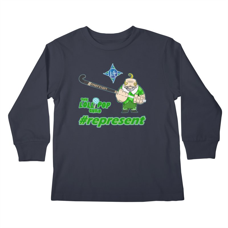 Lift Field Hockey : Lollipop Guild Kids Longsleeve T-Shirt by Sanctuary Sports LLC