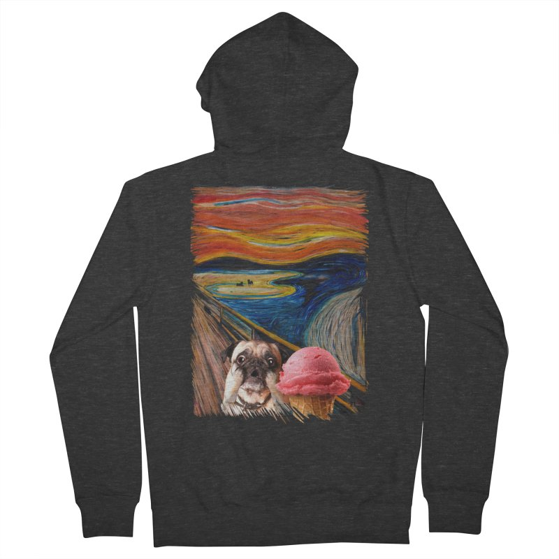 Ice creeeaaaamm Women's Zip-Up Hoody by sandalo's Artist Shop