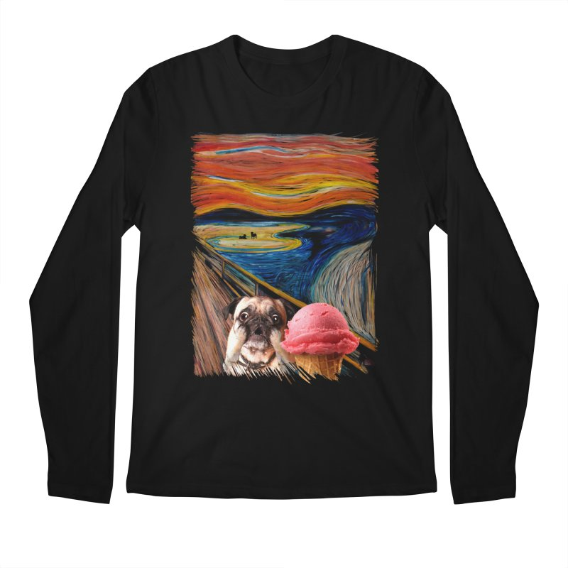 Ice creeeaaaamm Men's Longsleeve T-Shirt by sandalo's Artist Shop