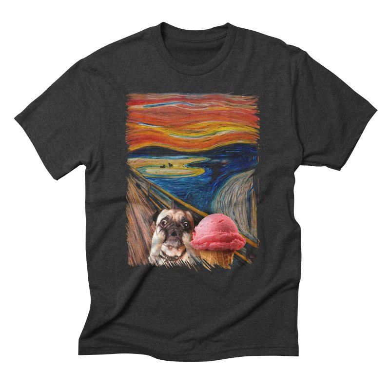 Ice creeeaaaamm Men's Triblend T-Shirt by sandalo's Artist Shop