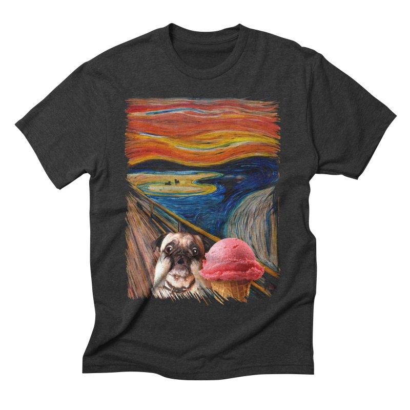 Ice creeeaaaamm Men's Triblend T-shirt by sandalo's Artist Shop