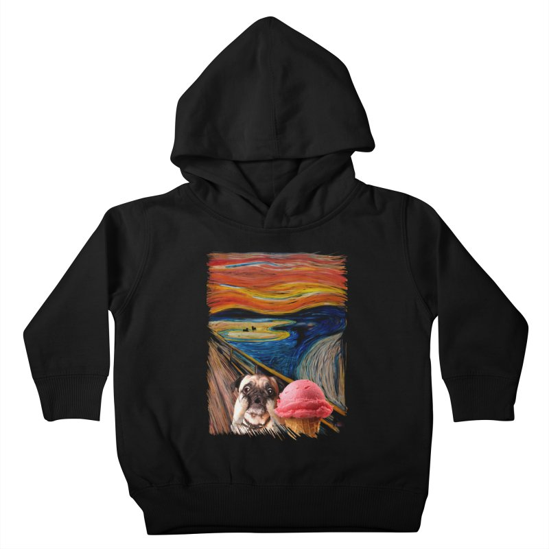 Ice creeeaaaamm Kids Toddler Pullover Hoody by sandalo's Artist Shop