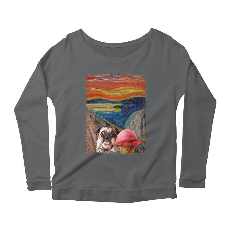 Ice creeeaaaamm Women's Longsleeve T-Shirt by sandalo's Artist Shop