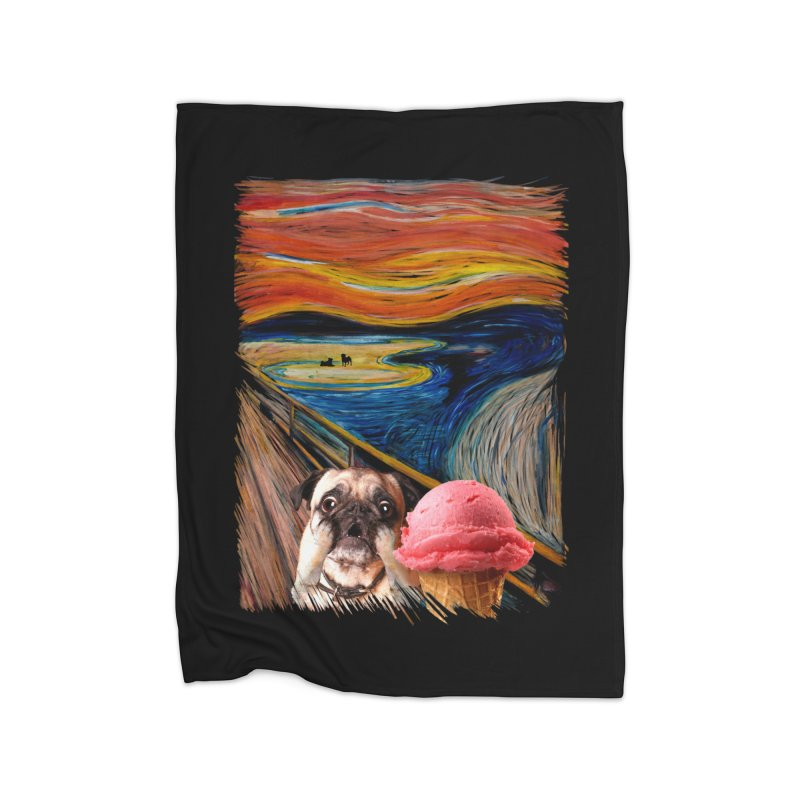 Ice creeeaaaamm Home Blanket by sandalo's Artist Shop
