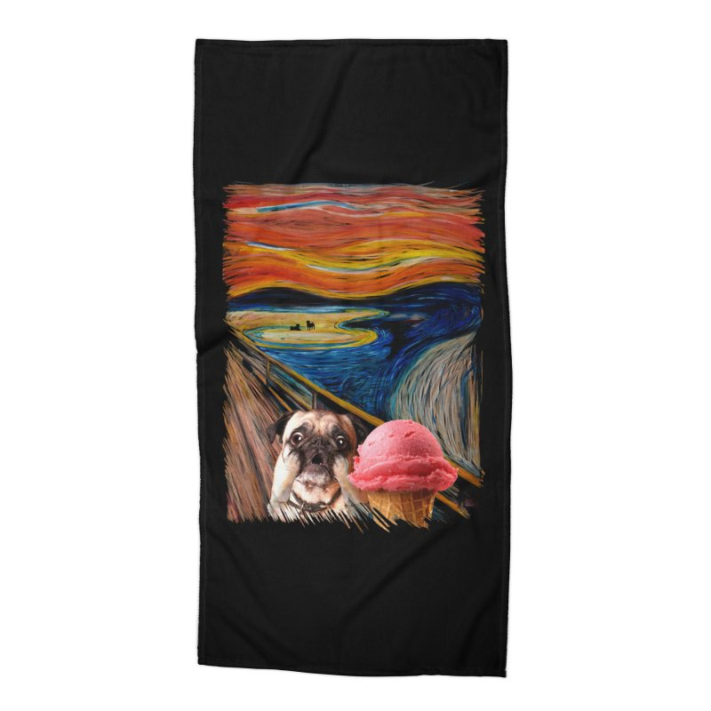 Ice creeeaaaamm Accessories Beach Towel by sandalo's Artist Shop