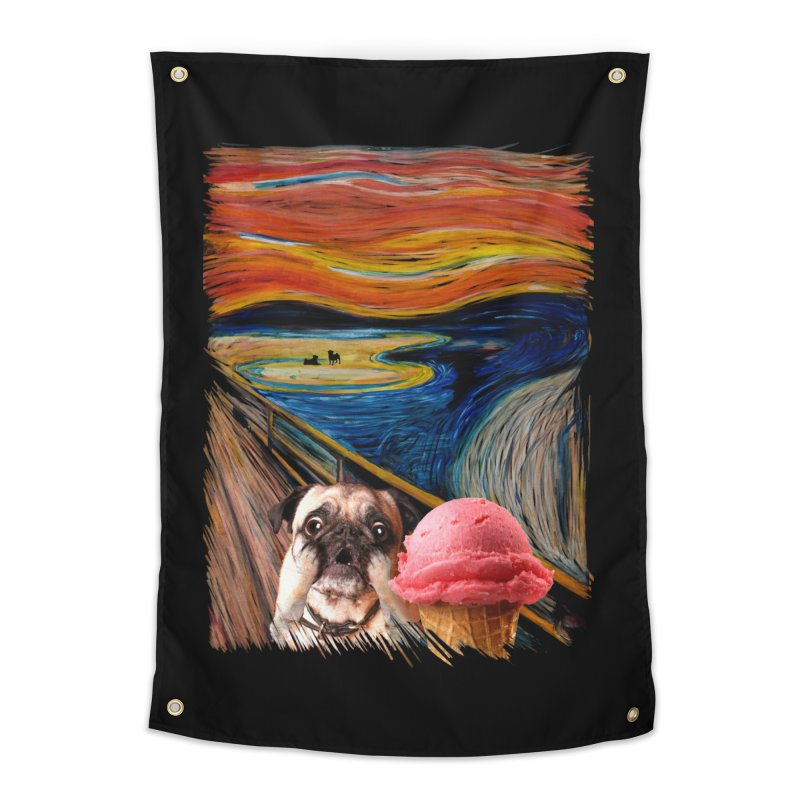 Ice creeeaaaamm Home Tapestry by sandalo's Artist Shop