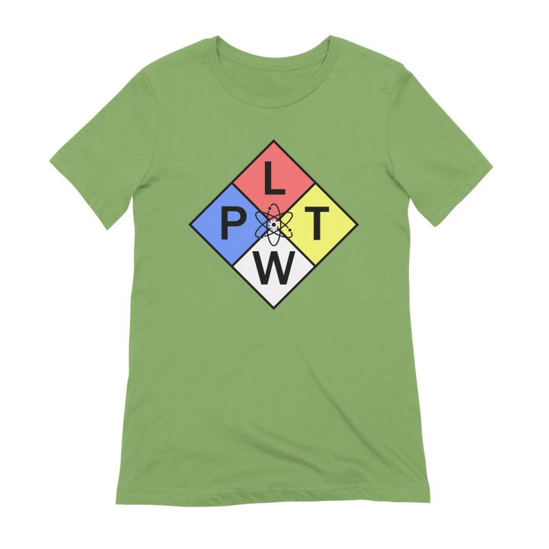 Project Lead The Way Women's Extra Soft T-Shirt by Sandburg Middle School's Artist Shop