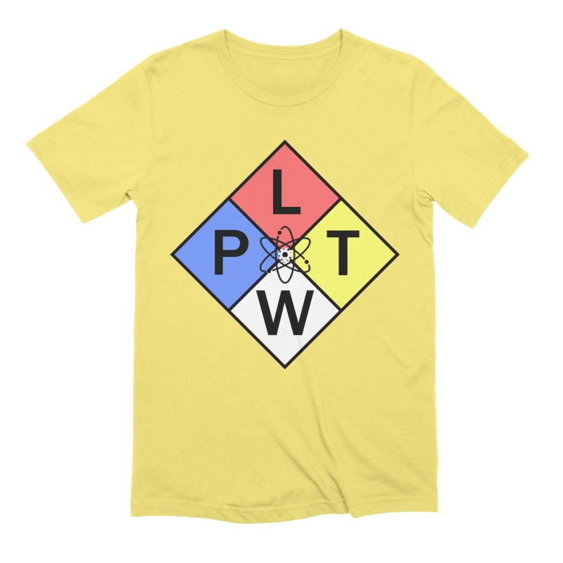 Project Lead The Way Men's Extra Soft T-Shirt by Sandburg Middle School's Artist Shop