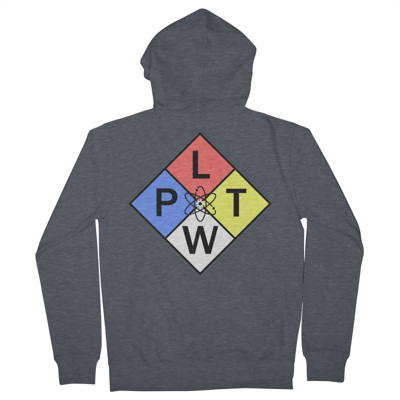 Project Lead The Way Men's Zip-Up Hoody by Sandburg Middle School's Artist Shop