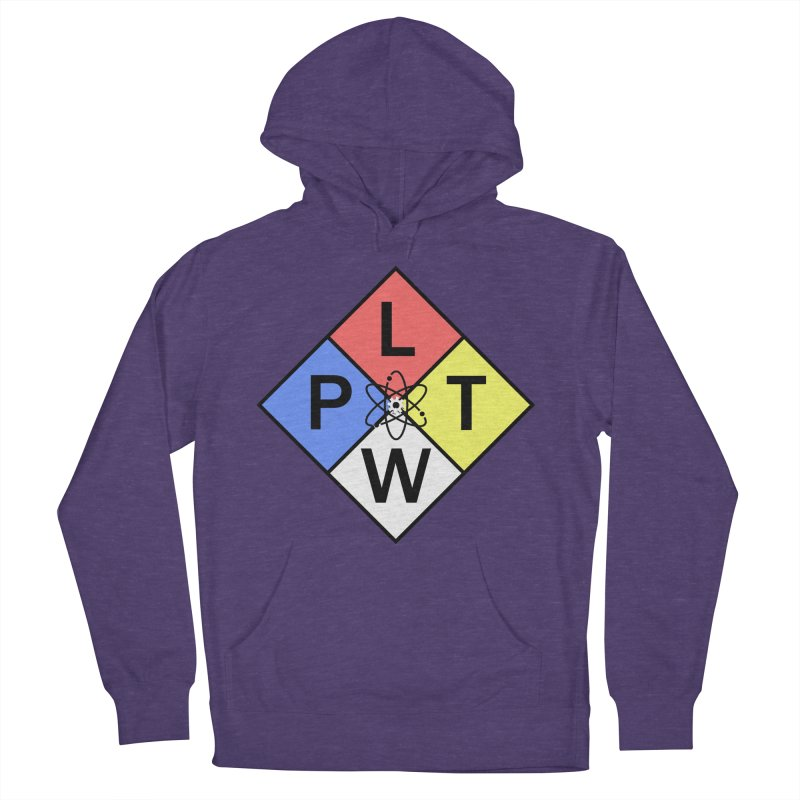 Project Lead The Way Women's French Terry Pullover Hoody by Sandburg Middle School's Artist Shop