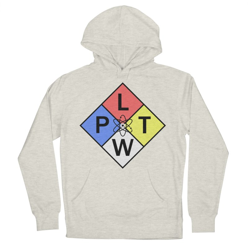 Project Lead The Way Men's French Terry Pullover Hoody by Sandburg Middle School's Artist Shop