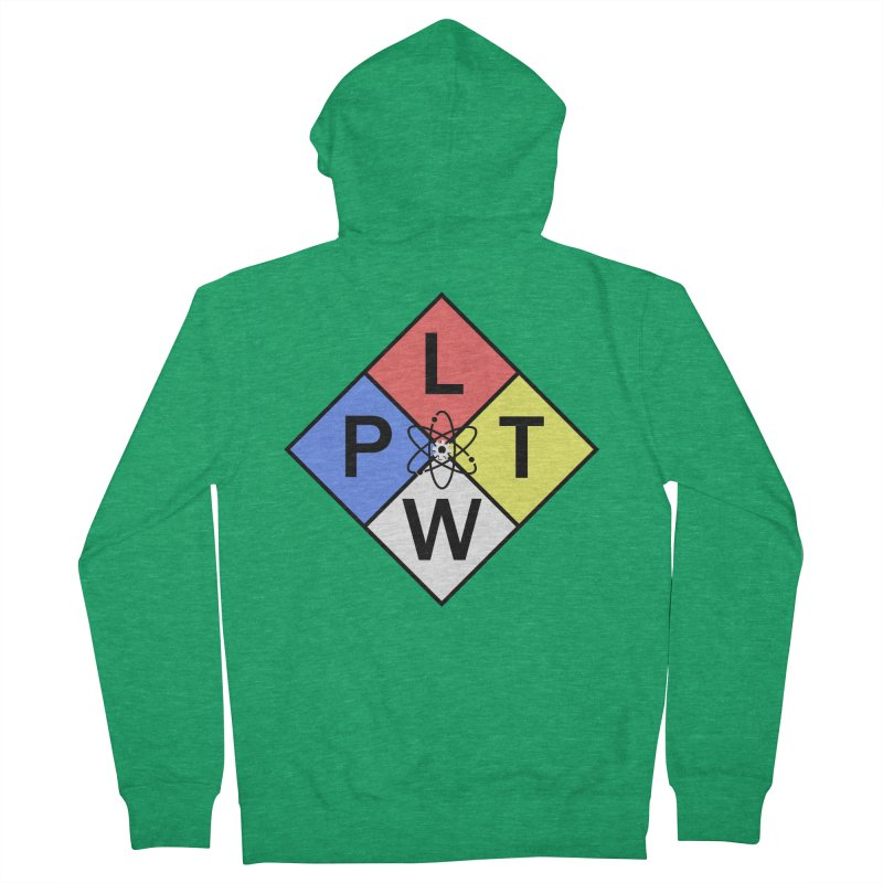 Project Lead The Way Women's French Terry Zip-Up Hoody by Sandburg Middle School's Artist Shop