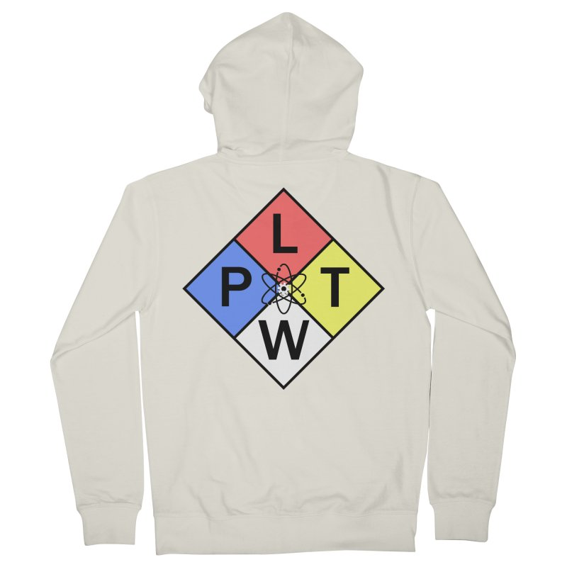 Project Lead The Way Men's French Terry Zip-Up Hoody by Sandburg Middle School's Artist Shop