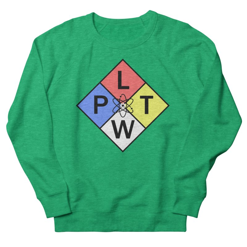 Project Lead The Way Women's French Terry Sweatshirt by Sandburg Middle School's Artist Shop