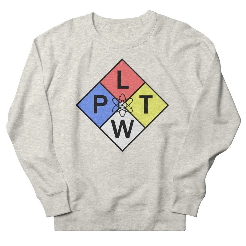 Project Lead The Way Men's French Terry Sweatshirt by Sandburg Middle School's Artist Shop