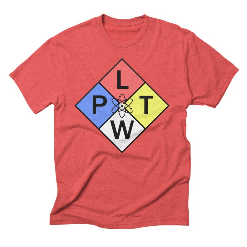Project Lead The Way Men's Triblend T-Shirt by Sandburg Middle School's Artist Shop