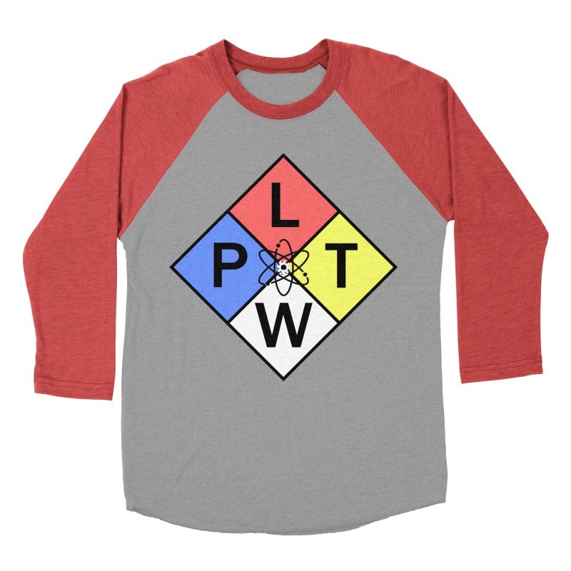 Project Lead The Way Men's Baseball Triblend Longsleeve T-Shirt by Sandburg Middle School's Artist Shop